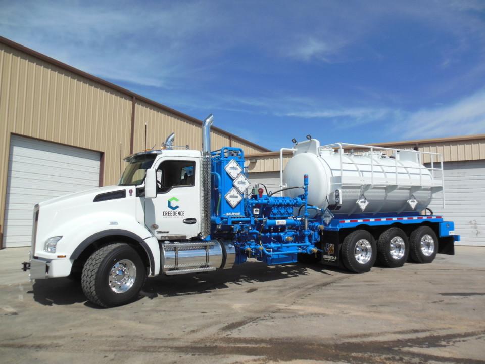 Chemical Trucks – Energy Fabrication Odessa, TX