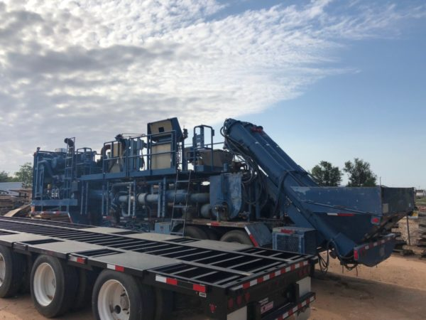 Frac Heating Units engineered by Energy Fabrication in Midland, TX