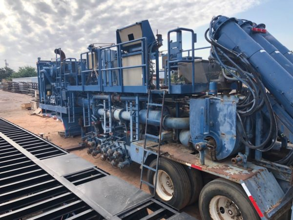 Energy Fabrication's Hot Oil Units in Pecos, TX